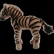 Steiff Zebra, 1959 to 1964, No Id's