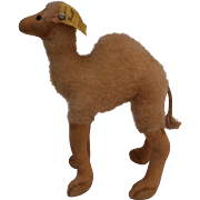 Steiff Smallest Camel, Steiff Button, 1959 to 1964