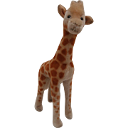 Steiff Giraffe,Steiff Button, 1965 to 1969
