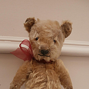 Poor Old Alfie,  Vintage Chiltern Teddy Bear