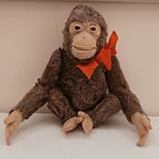 Dear Old Jocko Monkey by Steiff, Steiff Button, 1958 to 1964
