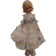 Sweet Old Cottage Toys 'Late Victorian Girl in Party Dress' 1968 to 1976
