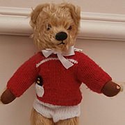 Teddy,, Sweet  Vintage Chad Valley Teddy Bear, Chad Valley Label
