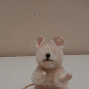 Steiff Pieps Mouse, No Id's 1965 to 1967