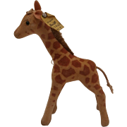 Steiff Smallest Giraffe, 1959 to 1964, Steiff Button