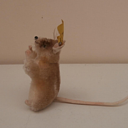 Darling Steiff Pieps Mouse, 1965 to 1967, Steiff Button and Yellow Flag