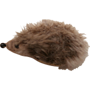 Miniature Steiff Joggi Hedgehog, No Id's 1966 to 1970