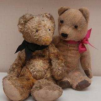 Poor Old Jack and Jill, Vintage Teddy Bears