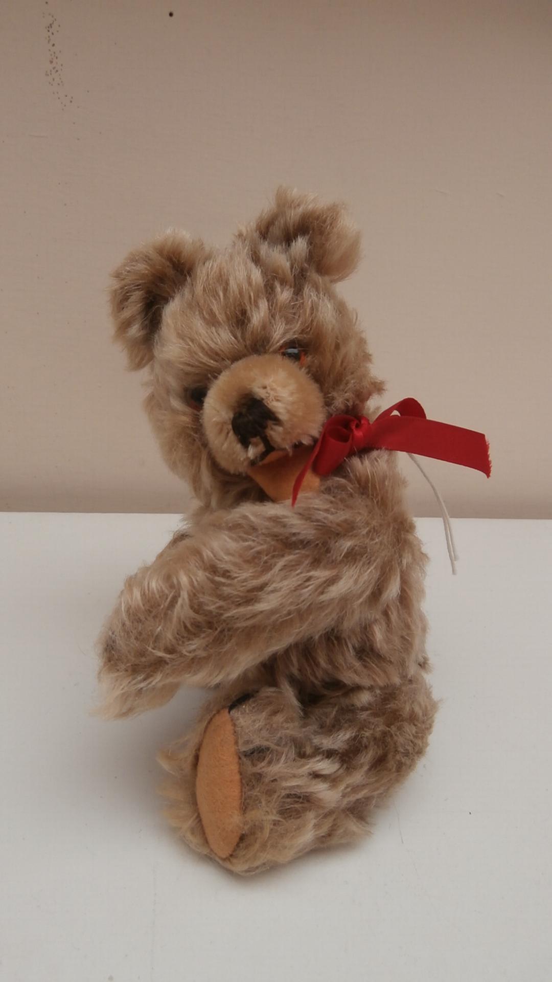 Thomas, Sweet Small Zotty Type, Hermann Teddy Bear, 1950's, Squeaker Works