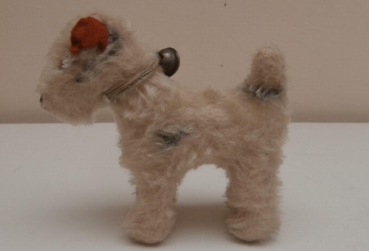 Steiff Foxy Fox Terrier Dog, 1959 to 1964, No Button