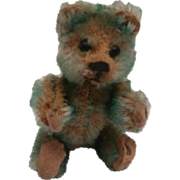 Rare Turquoise Schuco Miniature Piccolo Teddy Bear 1920/30, A/F