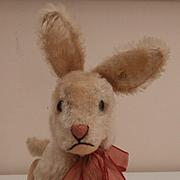 Gorgeous Steiff Niki Rabbit.1959 to 1964, Steiff Button