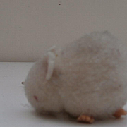 Steiff Wool Mouse , 1959 to 1964, No Id's