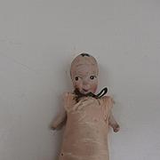 Fums Up , China Kewpie Type Doll  Needle and Pin Holder, English , Hancock
