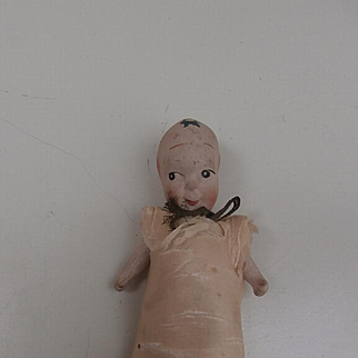 Fums Up , China Kewpie Type Doll  Needle and Pin Holder, English , Hancock