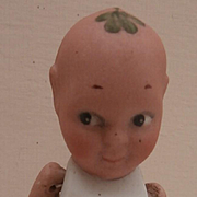 Very Rare German Bisque Fums Up Doll