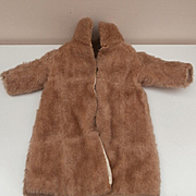 Early Mohair Coat For Your Doll
