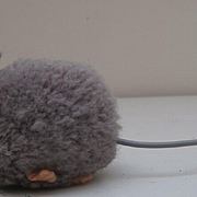 Steiff Wool Grey Mouse, 1968 to 1980, No Id's