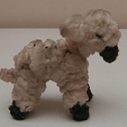 Sweet  Little Vintage Pipe Cleaner Lamb