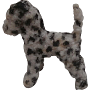 Sweet Vintage Dalmation Pipe Cleaner Dog