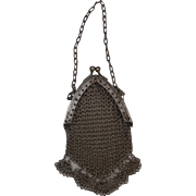 Vintage Chain Mail Doll or Teddy  Bag, A/F