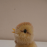 Lovely Steiff Chick,  Steiff Button, 1958 to 1964