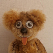 Vintage Schuco Janus Teddy Bear, Two Faces with Provenance