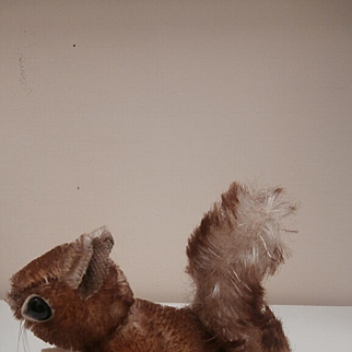 Steiff Smallest Size Perri Squirrel, No Id's 1959 to 1964