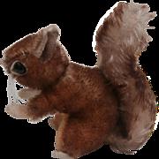 Steiff Smallest Size Perri Squirrel, No Id's 1959 to 1964