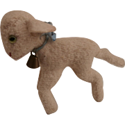 Well Loved Steiff Smallest Size Lamby, No Id's 1959 to 1964