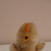 Cute Smallest  Steiff Chick,  Steiff Button, 1958 to 1964