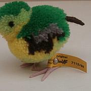 Steiff Woolen Bird, 1968 to 1983, Steiff Buton