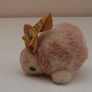 Steiff Woolen Rabbit, 1968 to 1984, Steiff Button