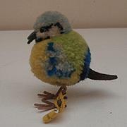 Steiff Woolen Bird,, Steiff Button 1959 to 1967, Damaged Foot
