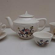 Part Noddy Childrens Tea Set, 1950/60's