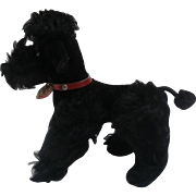 Steiff Snobby Poodle Dog. 1959 to 1964, Steiff Button, Steiff Label