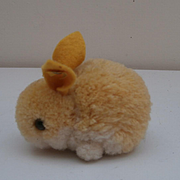 Steiff Wool Bunny Rabbit, Steiff Button 1969 to 1975