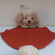 Sweet Spaniel Dog PJ /  Night Dress Case. Made by Trudi Italy 1960's with Label