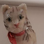 Steiff Lizzy Cat 1968 to 1970, No Id's