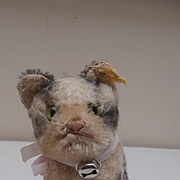 Steiff Susi Cat, 1965 to 1967, Steiff Button