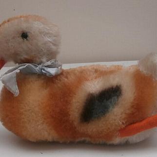 Steiff Play Duck, Steiff Button, 1965 to 1970
