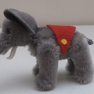 Vintage Schuco Miniature Elephant from the Noahs Ark Series