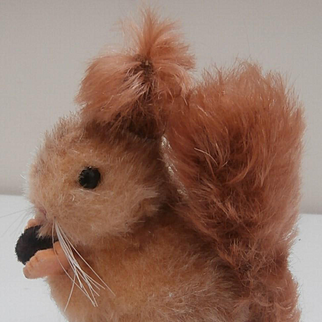 Gorgeous Vintage Squirrel with Working Squeaker