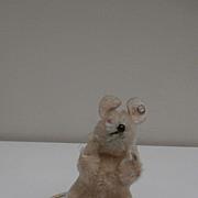 Steiff Pieps Mouse ,1965 to 1970 , Steiff Button