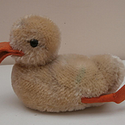 Steiff Play Duck, 1965  to 1967, Steiff Button
