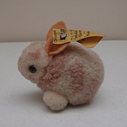 Sweet Little Wool Rabbit, Steiff Button 1968 to 1970's