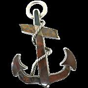 Classic Victorian Love Symbol--The Scottish Anchor
