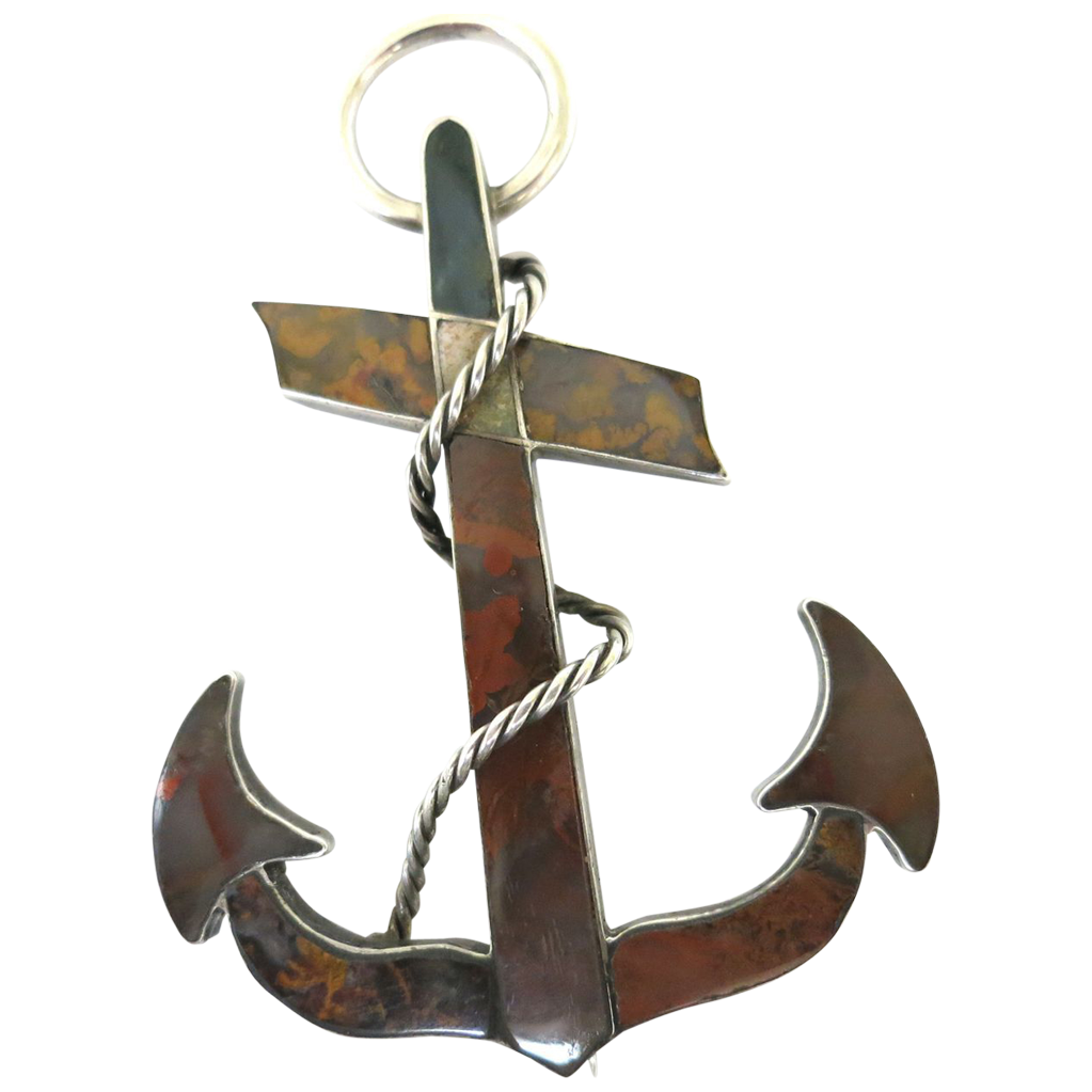 Classic Victorian Love Symbol--The Scottish Anchor