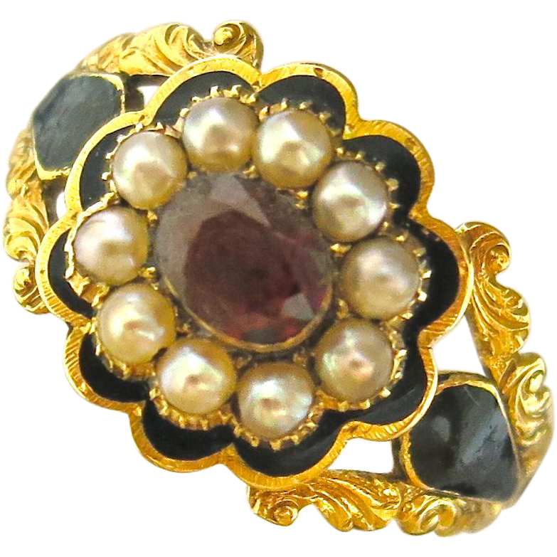 Superb Georgian Memorial Ring