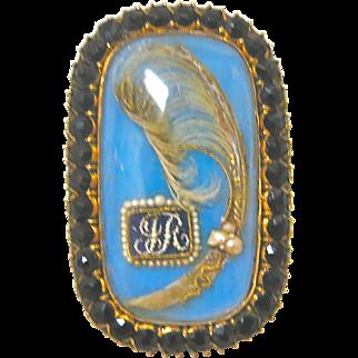 Georgian Memorial Ring--Dated 1809